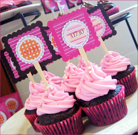 my little cupcake baby shower party from the party box design kid's parties baby showers bridal showers  http://www.frostedevents.com