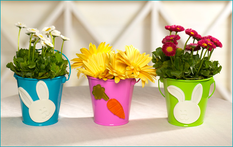 easy Easter centerpieces