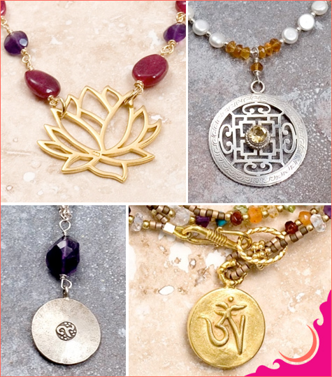 sacred charms yoga jewelry