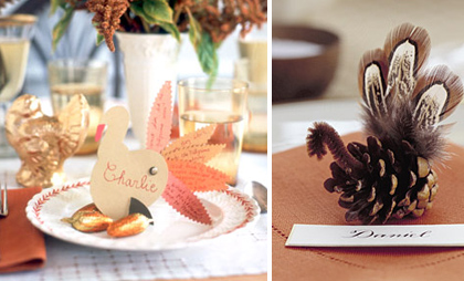 Martha Stewart Kids Thanksgiving Tablescape