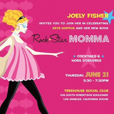 rock star momma party