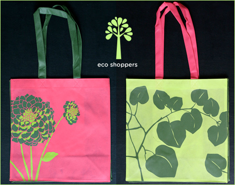 modern eco-friendly totes